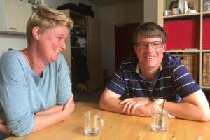 Linda en Martijn